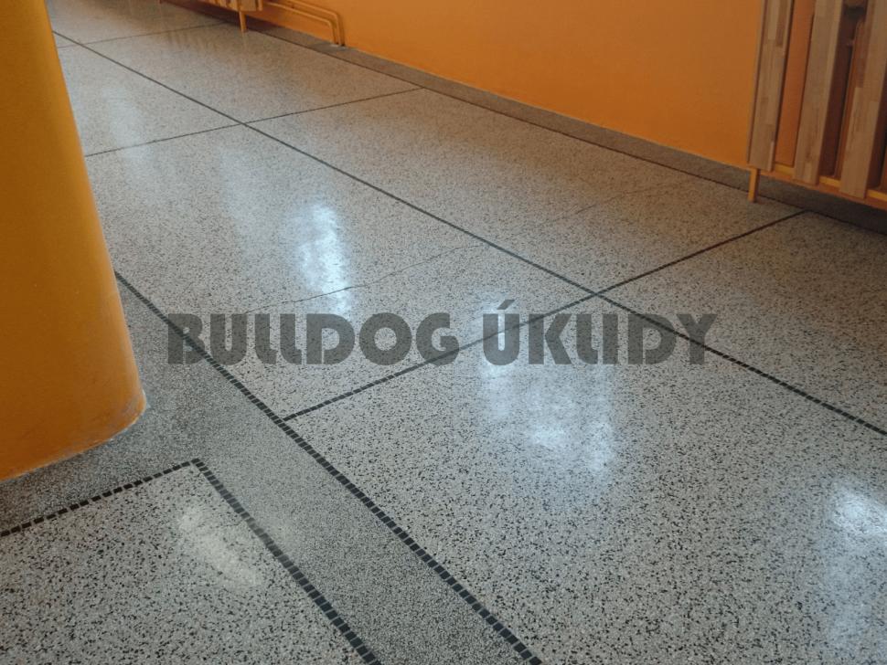 DCS-čištění kameninové podlahy