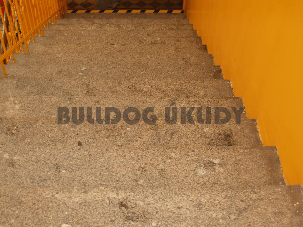 kamenné schody před impregnací praha